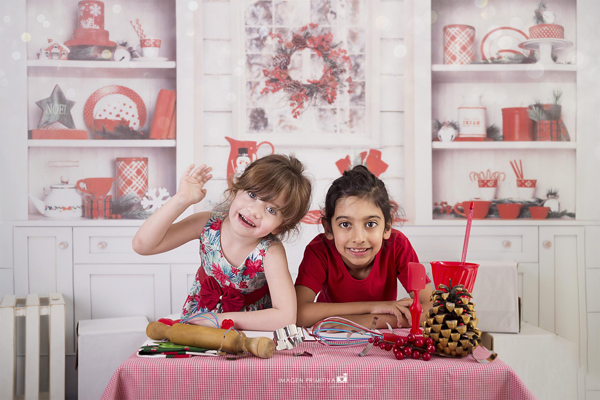 fotos de navidad en cocina navideña