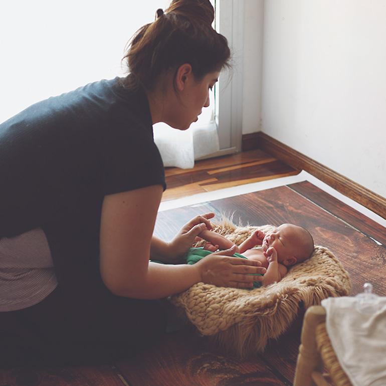 Capacitación en Fotografía Newborn
