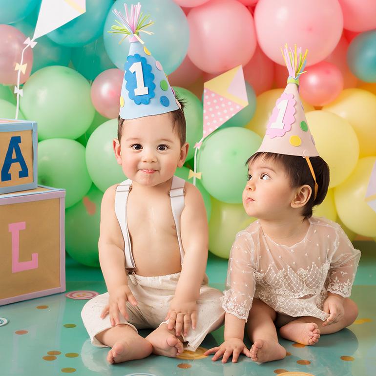 primer cumpleaños para los mellis