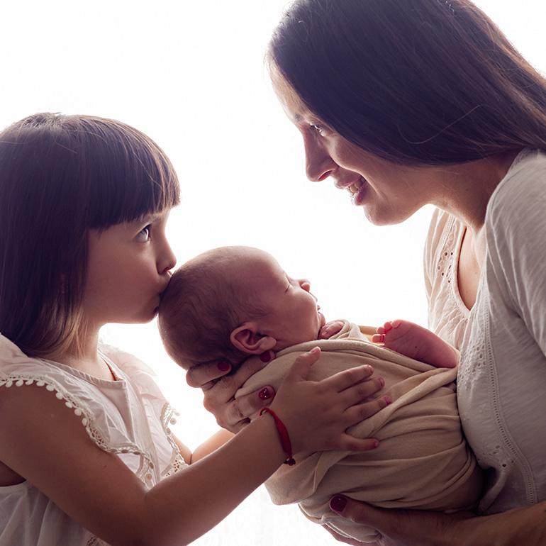 Fotos de recién nacido para Stéfano