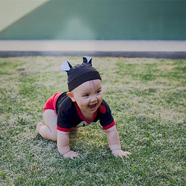 Stéfano cumple 1 año