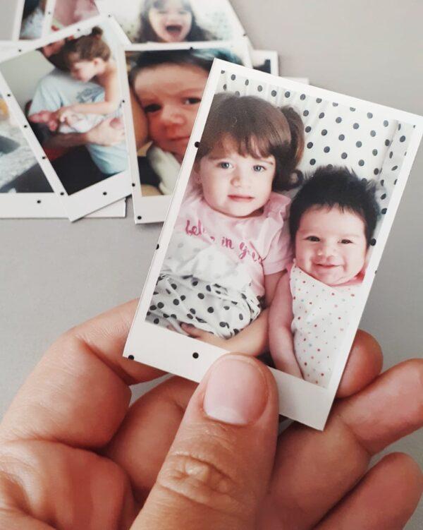 fotos polaroid en formato chiquito